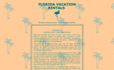 Website of Sunshine Vacation Rentals