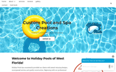 Website of Holiday Pools of West Florida, Inc.