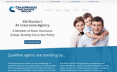 Website of Chapman Insurance Group