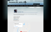 Website of Alejandra M. Juffe, CPA