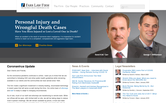 Website of Farr Law Firm