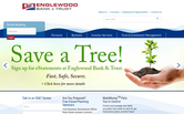 Website of Englewood Bank & Trust