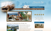 Website of Manasota Key Realty & Conch Out Vacation Rentals