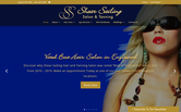 Website of Shear Sailing Hair & Tanning Salon