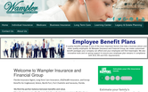 Website of Wampler Varner Insurance Group