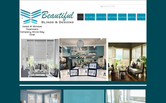Website of Beautiful Blinds & Designs