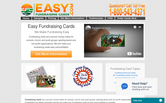Website of Easy Fundraising Cards
