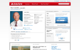 Website of Ron Smith State Farm Insurance