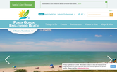 Website of Punta Gorda/Englewood Beach Visitor & Convention Bureau