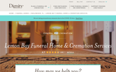 Website of Lemon Bay Funeral Home and Cremation Services