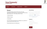 Website of Grace Community Church