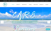 Website of C.A.R.E. - Center for Abuse & Rape Emergencies
