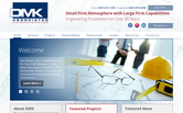Website of DMK Associates, Inc.