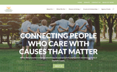 Website of Charlotte Community Foundation