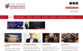 Website of The Venice Symphony